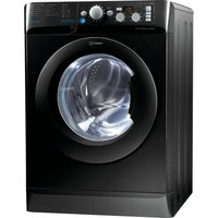 INDESIT BWD 71453 K 7 kg 1400 rpm Washing Machine - Black, Black