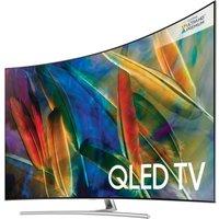 55 SAMSUNG QE55Q8CAMT Smart 4K Ultra HD HDR Curved Q LED TV