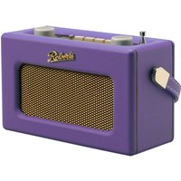 Roberts Revival Uno Retro Portable Clock Radio - Purple Haze, Purple