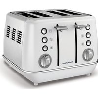 Buy MORPHY RICHARDS Evoke One 4-Slice Toaster - White, White - Currys PC World