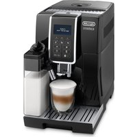 DELONGHI Dinamica ECAM 350.55.B Bean to Cup Coffee Machine - Black, Black