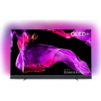 55 Philips 55oled903/12 Smart 4k Ultra Hd Hdr Oled Tv With Soundbar, Gold