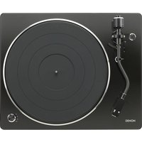DENON DP-450 Belt Drive Turntable - Black, Black