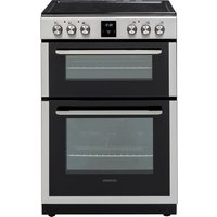 KENWOOD KDC66SS19 60 cm Electric Ceramic Cooker - Stainless Steel, Stainless Steel
