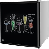 KTTF4BGB-1001 Mini Fridge - Black, Fixed Hinge, Black