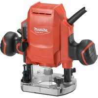 MAKITA MT Series M3601 Plunge Router - Red, Red.