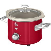 SWAN Retro SF17011 Slow Cooker - Red, Red