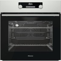 Click to view product details and reviews for Hisense Bsa5221axuk Electric Oven With Even Bake Steam Add Black Stainless Steel Stainless Steel.