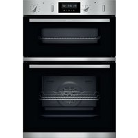 NEFF N50 U2GCH7AN0B Electric Double Oven - Stainless Steel, Stainless Steel