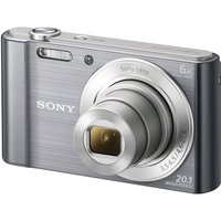 Sony Cyber-shot Dscw810b Compact Camera - Gun Metal at Currys Electrical Store