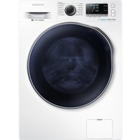 SAMSUNG ecobubble WD80J6410AW/EU Washer Dryer - White, White