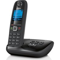 GIGASET AL415A Cordless Phone with Answering Machine, Black