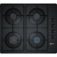 NEFF T26CR48S0 Gas Hob - Black, Black