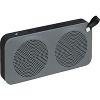 JVC SP-AD60-H Portable Bluetooth Wireless Speaker - Black & Grey sale image