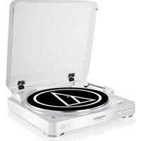 AUDIO TECHNICA AT-LP60BT Bluetooth Turntable - White, White
