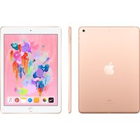 "APPLE 9.7"" iPad - 32 GB, Gold (2018), Gold"
