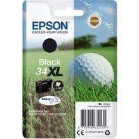 EPSON 34 Golf Ball XL Black Ink Cartridge, Black