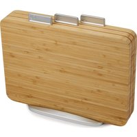 Joseph Joseph Index Bamboo 3-piece Chopping Board Set
