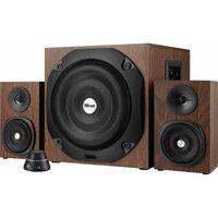 TRUST Vigor 2.1 PC Speakers - Brown, Brown