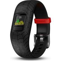 GARMIN vivofit jr 2 Kid's Activity Tracker - Black Spider-Man, Adjustable Band, Black