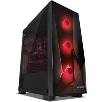 PC Specialist Tornado R5 AMD Ryzen 5 RX 590 Gaming PC - 1 TB HDD & 120 GB SSD, Transparent