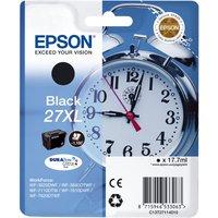 Epson Alarm Clock 27xl Black Ink Cartridge, Black