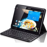 Sandstrom S10ukbf14 Keyboard Folio Tablet Case - Black, Black