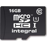 INTEGRAL UltimaPro Class 10 microSD Memory Card - 16 GB