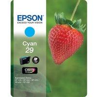 EPSON Strawberry 29 Cyan Ink Cartridge, Cyan