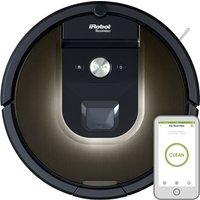 IROBOT Roomba 980 Robot Vacuum Cleaner - Black, Black