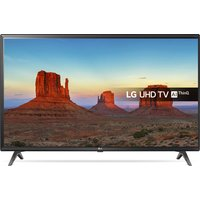 "LG 43"" 43UK6300PLB Smart 4K Ultra HD HDR LED TV, Gold"