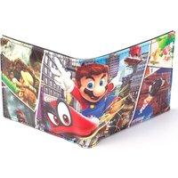 NINTENDO Super Mario Odyssey PU Bifold Wallet