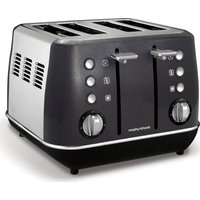 Buy MORPHY RICHARDS Evoke One 4-Slice Toaster - Black, Black - Currys PC World
