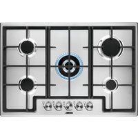 Zanussi Zgh76524xx Gas Hob - Stainless Steel, Stainless Steel