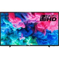 55 Philips 55pus6503/12 Smart 4k Ultra Hd Hdr Led Tv, Gold