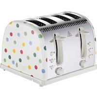 Emma Bridgewater Polka Dot 4-Slice Toaster - Cream, Cream