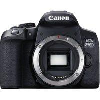 CANON EOS 850D DSLR Camera - Black, Body Only, Black