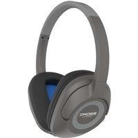 KOSS BT539i Wireless Bluetooth Headphones - Dark Grey, Grey