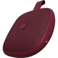 FRESH N REBEL Rockbox Bold XS Portable Bluetooth Speaker - Ruby Red, Red.