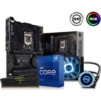 PCSPECIALIST Intel®Core i9 Processor, TUF GAMING Motherboard, 16 GB RAM & FrostFlow Liquid Cooler Components Bundle