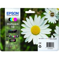 Epson Daisy T1806 Cyan, Magenta, Yellow & Black Ink Cartridges - Multipack, Cyan at Currys Electrical Store