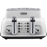 Buy DELONGHI CTZ4003W Scultura Delonghi Toaster- White, White - Currys PC World