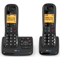 Click to view product details and reviews for Bt Xd56 Cordless Phone With Answering Machine Twin Handsets.