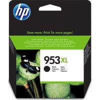 HP 953XL Black Ink Cartridge, Black