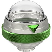 360FLY 4K & HD Action Camera Dive Housing - Green & Clear, Green