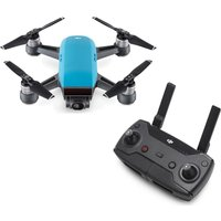 DJI Spark Drone & Controller Bundle, Blue