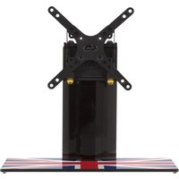 AVF B200UK 450 mm TV Stand with Bracket - Union Jack