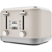 Buy KENWOOD KMIX 4-Slice Toaster - Cream, Cream - Currys PC World
