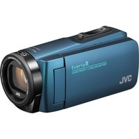 JVC GZ-R495AEK Camcorder - Blue, Blue