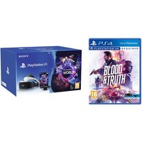 SONY PlayStation VR Starter Pack & Blood & Truth Bundle, White